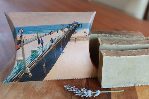 Manhattan Beach Pier Lavender Soap