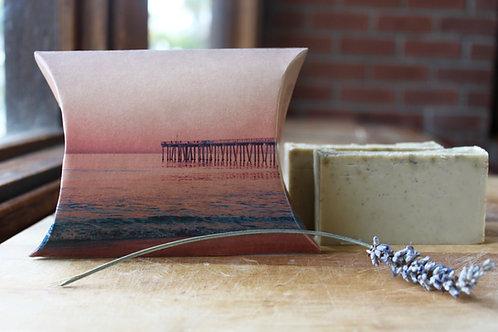 Hermosa Beach Pier Sunset Lavender Soap No. 2