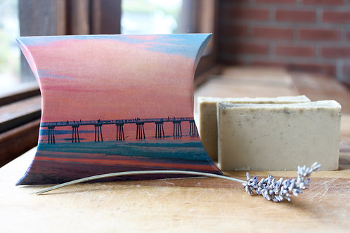 Hermosa Beach Pier Sunset Lavender Soap No. 1