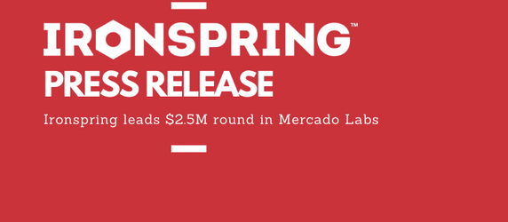 Ironspring Ventures leads $2.5M round into Mercado Labs
