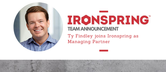 Ty Findley Joins Ironspring as Managing Partner