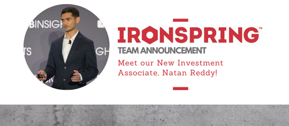 Meet our new Investment Associate, Natan Reddy!