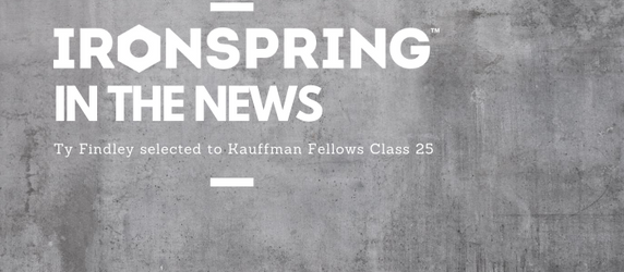 Managing Partner Ty Findley selected to Kauffman Fellows Class 25!