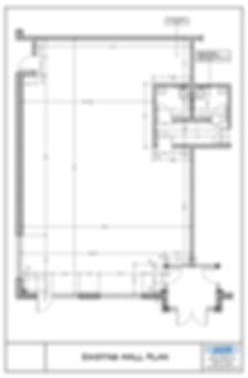Coffee Shop Existing Wall Plan