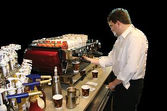 Coffee Shop Espresso Shots