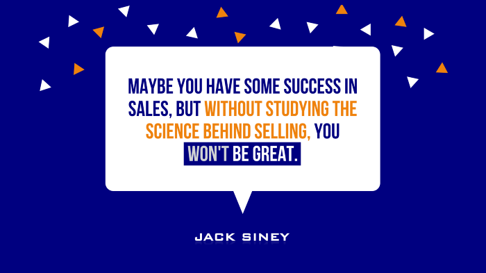 The Science of Sales