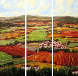 St. Julien, France (triptych)