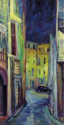 Night Street - Carces, France