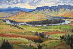 Flathead River Valley ~ Montana