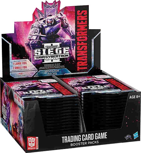 Transformers War for Cybertron siege II booster box