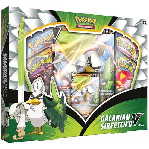 Galarian Sirfetchd V Box