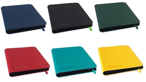 Vault X - 9-Pocket eXo-Tec® Zip Binder