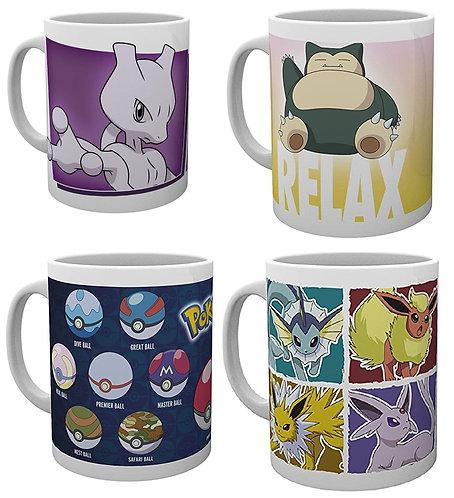 Pokemon mugs