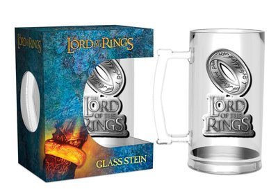 Lord of The Rings - The One Ring Glass Stein