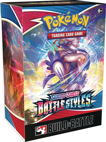 Pokemon - BattleStyes Build and Battle Pre-Release Kit
