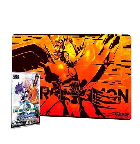 Digimon Card Game: Play-mat Wargreymon PB-03