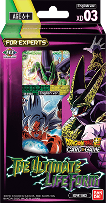 Dragon Ball Super - Expert Deck XD03 The Ultimate Lifeform
