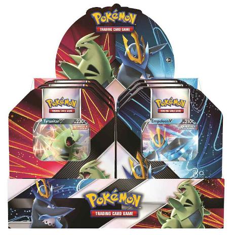 Pokemon TCG: V Strikers Tin (Tyranitar V / Empoleon V) (Summer 2021)