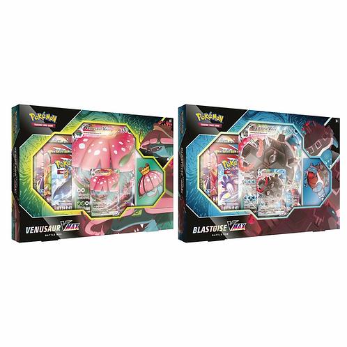 Pokemon - Venusaur/Blastoise VMAX Battle Box