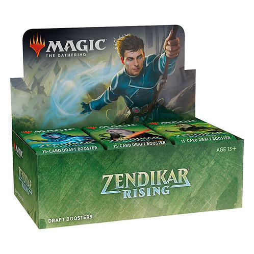 Zendikar rising Draft box