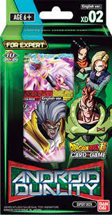 Dragon Ball Super -Android Duality Expert Deck XD02