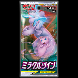 Pokemon- Japanese - Miracle Twin Booster Pack