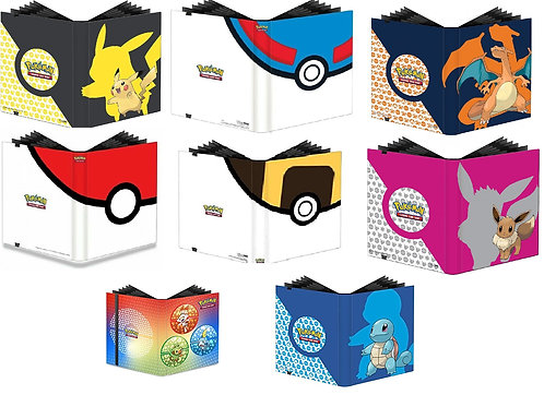 Pokemon Binders