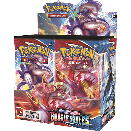 Pokémon TCG: Sword & Shield 5 Battle Styles Booster Box