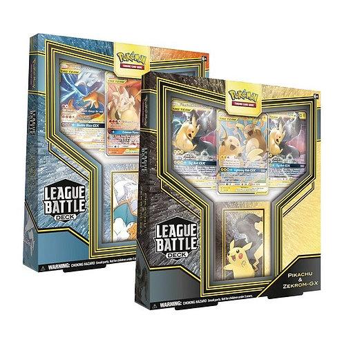 League battle deck Charizard/Raichu