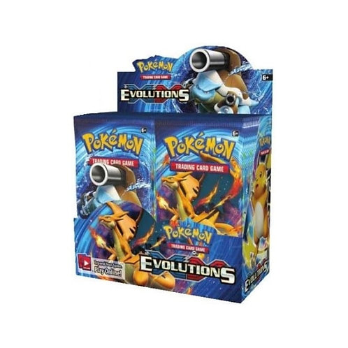 Evolutions Packs/Booster boxes