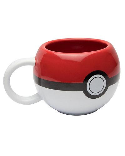 3D Pokeball mug