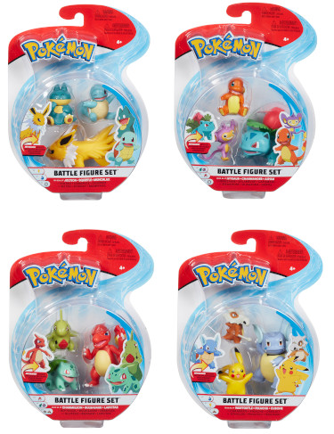 Pokemon - 3 Figure Battle Pack