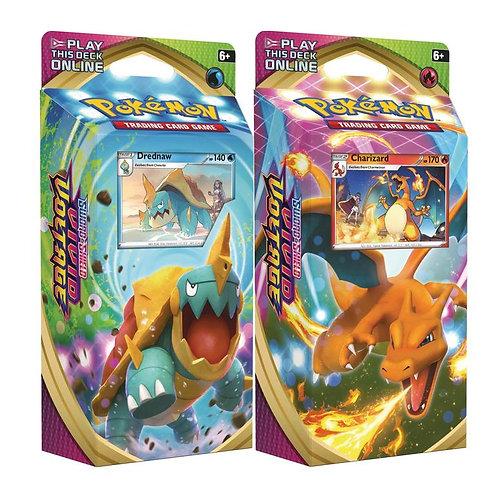 Pokemon - Sword & Shield - Vivid Voltage - Theme Deck - Charizard & Dreadnaw