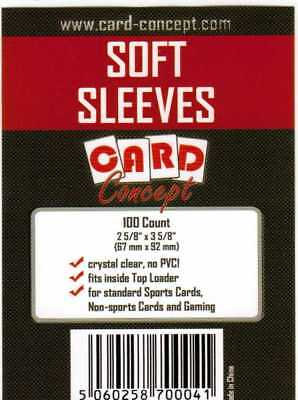 Card Concept soft sleeves