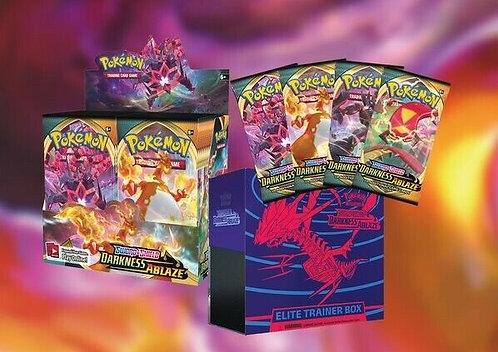 Darkness ablaze packs/ETB/Booster box