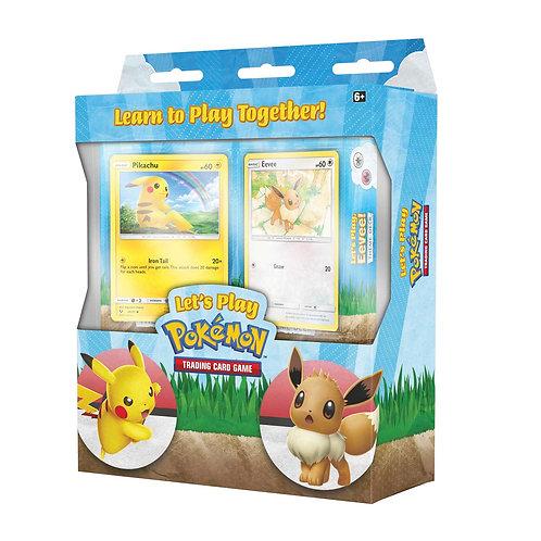 Let's Play Pokemon (Eevee & Pikachu deck)