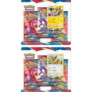 Pokémon TCG: SwSh 5 Battle Styles 3-Pack triple blister Eevee/Jolteon