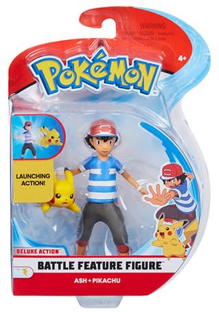 Pokemon - Battle Feature Figure - Ash Pikachu