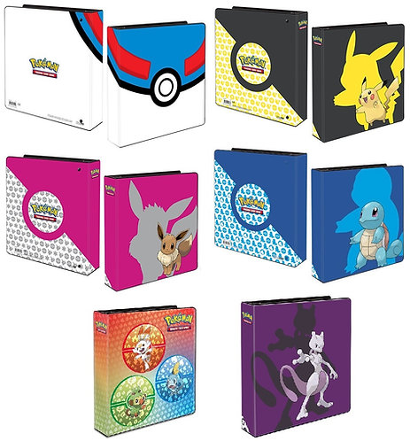 Pokemon themed D-Ring collectors binder