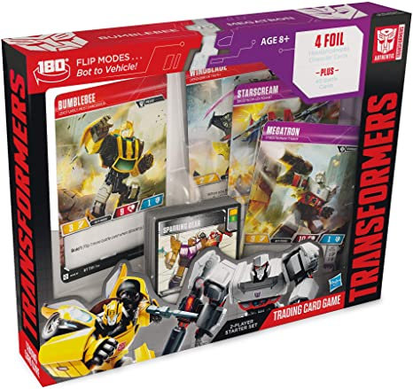 Transformers Bumblebee vs Megatron starter deck