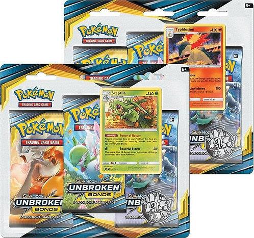Pokemon - Unbroken Bonds triple blister pack