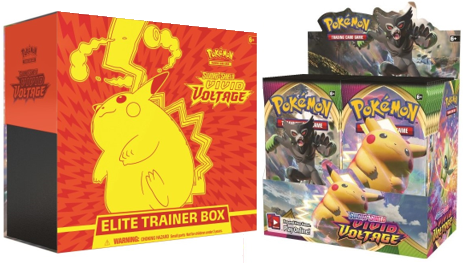 Vivid Voltage Box & Elite trainer box combo