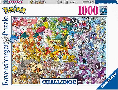 Pokémon Challenge Jigsaw Puzzle Group