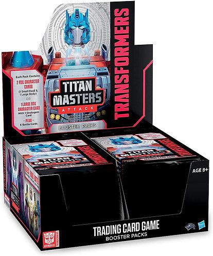 Transformers Titan Masters Attack booster box