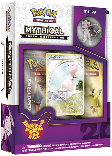 Mew mythical collection