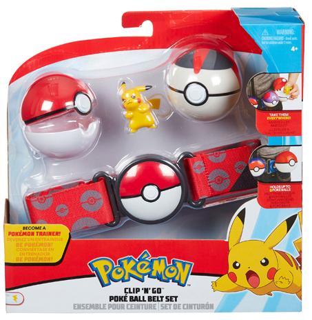 Pokemon - Clip N Go Poke Ball Belt Set