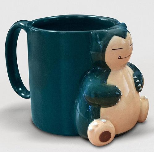 3D Snorlax mug