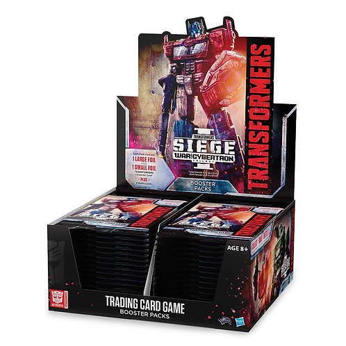 Transformers War for Cybertron Seige I booster box