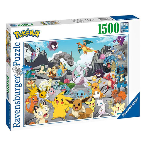 Pokémon Challenge Jigsaw Puzzle (1500 piece)