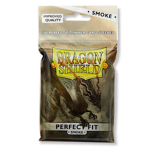 Dragon shield smoke backed pro fit sleeves